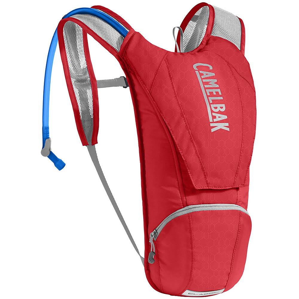 Camelbak Classic Hydration Pack - Racing Red & Silver, 2.5L