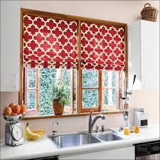 Kitchen Curtains Valances Modern by Kitchen Room Fabulous Black Kitchen Curtains And Valances White