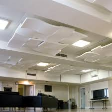 4x8 Ceiling Light Panels by Whisperwave Ceiling Cloud Acoustical Solutions