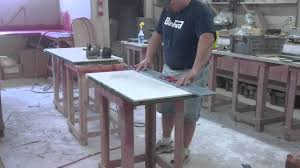Karran Edge Undermount Sinks by Time Lapse Video Making Of 2 Solid Surface Vanity Countertops