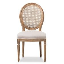 Baxton Studio Darleneweathered Oak Round Cane Back Beige Fabric Upholstered  Dining Side Chair Set Of Four Ethan Allen Cane Back Ding Chairs Ebth Chair Fniture Outlet Atlanta Fair Eastgate Row Spokane Room French Provincial Cane Back Ding Chairs Thomasville Room Ideas Eight Mid Century Modern S8 Milo Baughman New Fabric Chrome Pair Vintage French Country Arm 2 Ideas On For Sale Au Uk Pwick Antiques English And Montgomery Alabama Fishmag