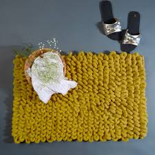 Yellow Gray Bathroom Rugs by Grey Loop Bath Mat Buy Grey Bathroom Rugs Online Grey Bath Mat
