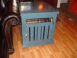 28 best dog crate end table images on pinterest dog crate end