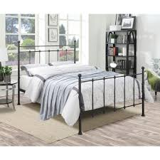 Queen Bed Rails For Headboard And Footboard by Pri All In 1 Black Queen Bed Frame Ds 2644 290 The Home Depot
