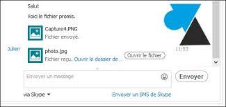 skype pour bureau envoyer des fichiers avec skype pour windows 8 et rt