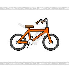 Bicycle Outline Style BMX Linear