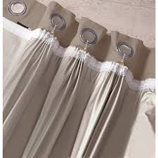 Light Blocking Curtain Liner by La Redoute Tie Top Curtains Decoration And Curtain Ideas