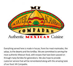 Mexican Restaurant Mi Compadre - Home - Ann Arbor, Michigan - Menu ... El Compadre Trucks Amarillas Atlanta Toyota Of Escondido Full Moon Baja Mexico Offroad Excursion Elegant 20 Images El New Cars And Wallpaper Mexican Restaurants In South Philly Where To Eat The Best Tacos Truck Ga Best Image Kusaboshicom Lifican Hash Tags Deskgram Automotive History The Anticadillac For Developing Nations Howard County Restaurant Directory Times Beautiful Insecure S Restaurant Bar Locations Red Wagon Food Truck Editorial Stock Photo Office 25895428 Unique June 2017 Green Fire By Sun