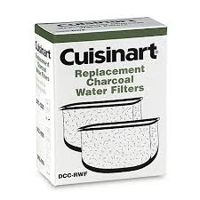 cuisinart replacement charcoal water filters set of 2 bed
