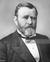 Portrait Of The Ulysses S Grant 18th President United States Late Nineteenth Century