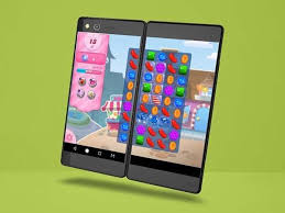 Folding Dual Screen Smartphones ZTE Axon M