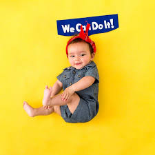 Rosie The Riveter Halloween Diy by 41 Of The Best Halloween Costumes For Your Baby Brit Co
