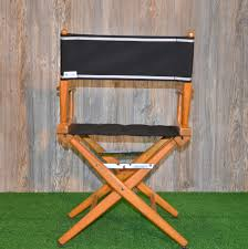 Director Chairs With Sunbrella Seats, Backs, & Custom Embroidery