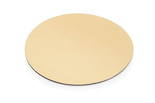 "Fox Run 48737 Crdbrd Cake Base 10"" S/12 Gold"