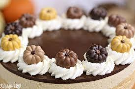 Pumpkin Chocolate Mousse Cake