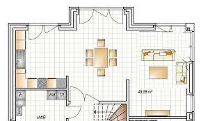 grundriss wohnzimmer küche grundriss küche wohnzimmer