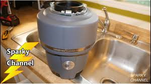 Insinkerator Sink Top Switch Sts So by How To Install The Insinkerator Evolution Compact Garbage Disposal