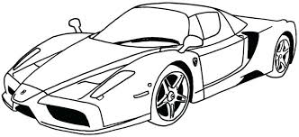 Coloring Pages Race Car For Toddlers New Sports Printable Pdf Online Racing
