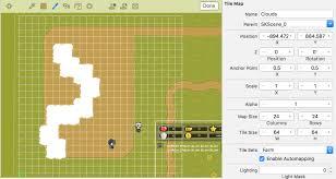 level tile maps in the ios starter kit