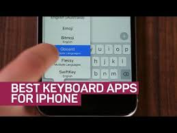 Best keyboard apps for iPhone