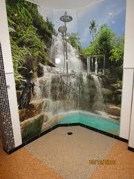 duschrückwand aus alu verbund mit motivdruck duschrückwand