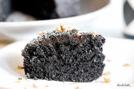 schwarzer sesamkuchen glutenfrei vegan kuroi neko keki