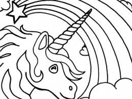 Unicorn Coloring Sheets Easy Pages Of Unicorns To Print