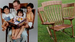 The Three Seat Rocking Chair Tailor Made For Grandparents ... Crafting Comfort Alan Daigre Designs Good Grit Magazine Old Man Sitting In Rocking Chair Grandmother Rocking Chair Grandchildren Stock Vector The Every Grandparent Needs Simplemost Grandfather And Granddaughter Photo Man Photos Invest A Set Of Chairs Marriage Lessons From Grandparents Products Adirondack With Her Sitting In A Solid Wood Dusty Pink Off The Rocker Brief History One Americas Favorite Rex Rocking Chair Dark Brown From Rex Kralj