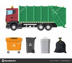 100 Waste Management Toy Garbage Truck Recycling And Utilization Equipment Stock Vector Abscent 164895348