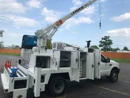 100 Service Truck With Crane For Sale D F550 Diesel Utility Body Hydraulic