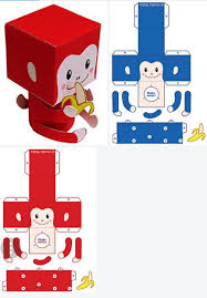 Paper Toys Papercraft Animaux Art Crafts