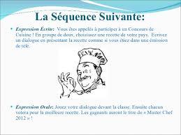 expression cuisine le cours interculturel la cuisine francophone