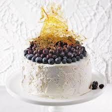 cake mit blaubeeren