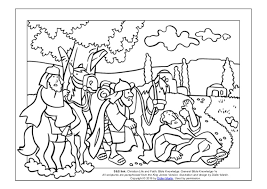 Coloring Page The Acts Of Apostles Road To Damascus
