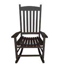 Mainstays Outdoor Wood Slat Rocking Chair - Walmart.com Isla Wingback Rocking Chair Taupe Black Legs Safavieh Outdoor Living Vernon White Rar Eames Colby Avalanche Patio Faux Wood Rapson Amazoncom Adults For Heavy People Clips Monet Rattan Rocking Chair Base Pp Ginger