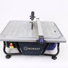 8 kobalt wet tile cutter how to use a tile saw how to make