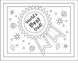 Free Printable Fathers Day Cards Coloring To Make C