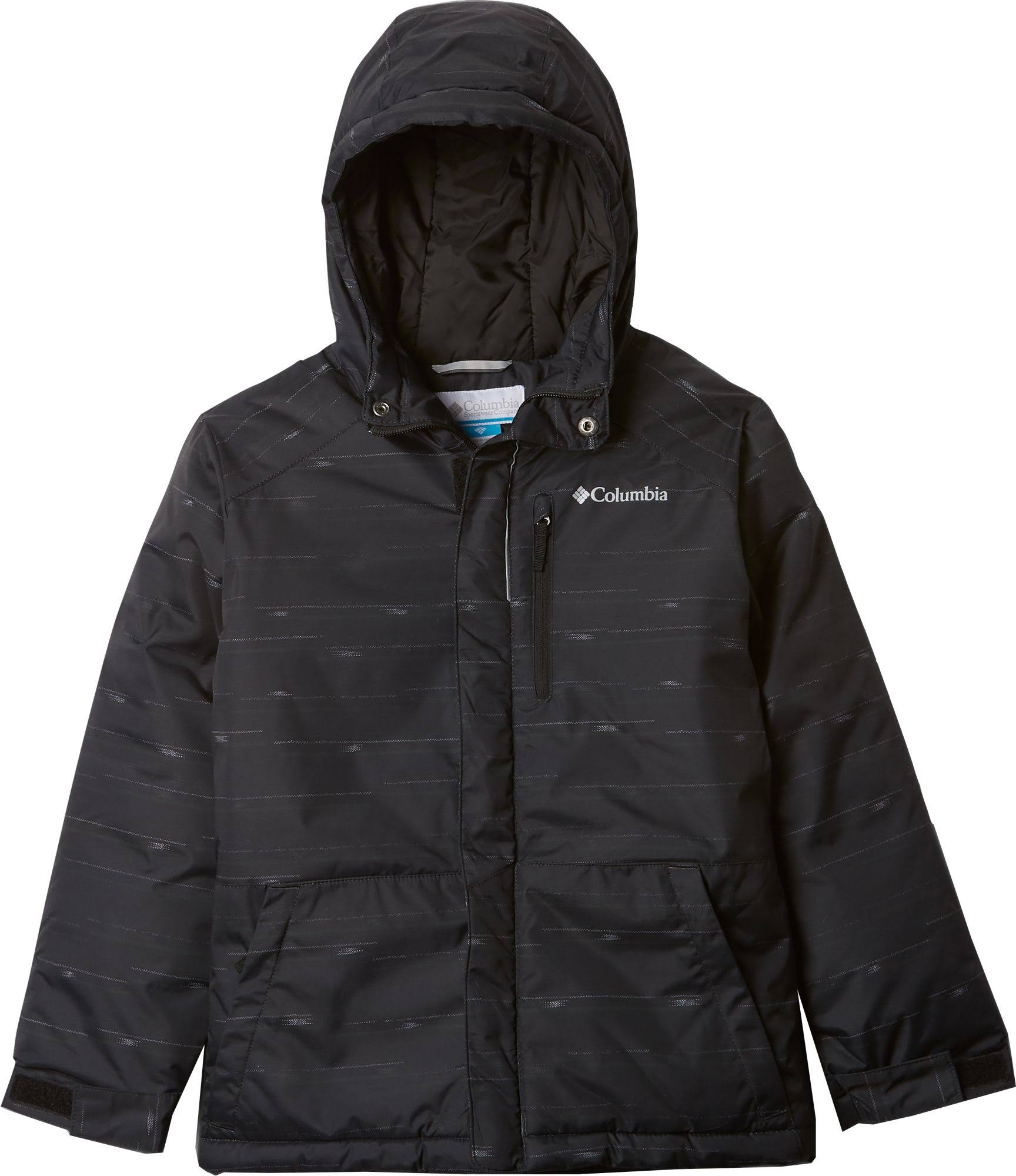 Columbia Boys' Lightning Lift Jacket - M - Black Stripe