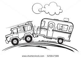 Rv Camper Stock Images Royalty Free Vectors