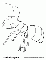 Adult Ant Coloring Pages Page Ants Go Ing