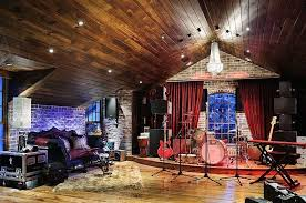 View In Gallery Elevate The Appeal Of Music Room With A Cool Stage Design Tuthill Architecture