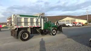 100 Truck With Snow Plow For Sale 1992 Mack RD690P Single Axle Dump Salt