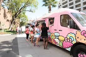 100 Truck Stop San Diego Hello Kitty Cafe Returns To Los Angeles County With Stops In