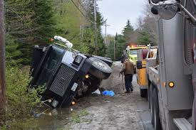 Dump Truck Rolls Over In Hancock On Monday Afternoon - The Ellsworth ...
