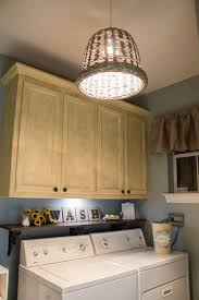 Ideas Large Size Funky Diy Pendant Light For Laundry Room Plus Unique Wooden Hanging Cabinet