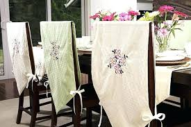 Dining Room Chairs Covers White Chair Slipcovers Like A Lovable Table