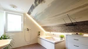 spanndecke im badezimmer wie gut ist die deckenlösung