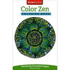 Design Originals Color Zen Coloring Book