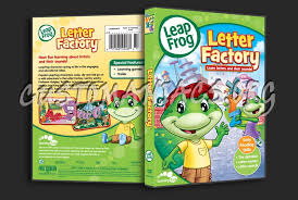 Leap Frog Letter Factory dvd cover DVD Covers & Labels by