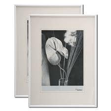 cadre photo 60x80 de couleur blanc